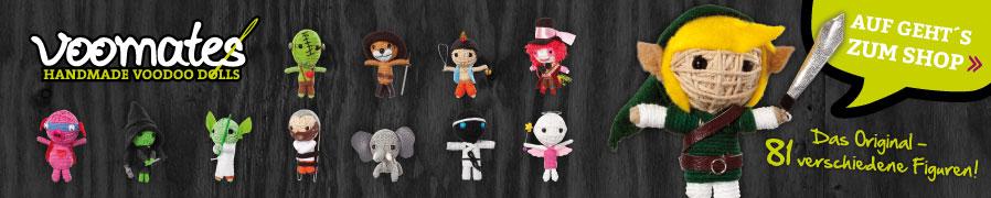 Voodoo Puppen selber machen aus Stoff, Ton, etc.